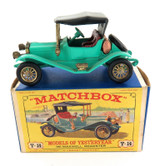 VINTAGE MATCHBOX / LESNEY YESTERYEAR Y-14 1911 MAXWELL ROADSTER + BOX.