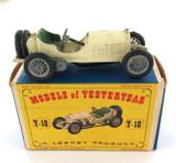VINTAGE MATCHBOX / LESNEY YESTERYEAR Y-10 1908 MERCEDES + BOX.
