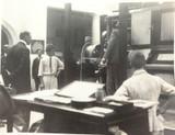 RARE 1924 BRITISH EMPIRE EXHIBITION PHOTO. KING OF DENMARK, AUSTRALIAN PAVILION.