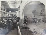 RARE 1924 BRITISH EMPIRE EXHIBITION LARGE PHOTO. AUSTRALIAN DAIRY FARM DISPLAY