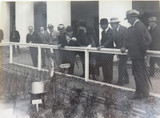 RARE 1924 BRITISH EMPIRE EXHIBITION LARGE PHOTO. STANLEY BALDWIN, AUST PAVILION.