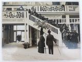 RARE 1924 BRITISH EMPIRE EXHIBITION LARGE SILVER GELATIN PHOTO. AUSTRALIAN CAFE.