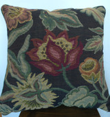 UNUSED, NEW OLD STOCK QUALITY DECORATIVE OCCASIONAL PILLOW, TAPESTRY FABRIC
