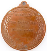 RARE / UNISSUED 1984 AUSTRALIAN ATHLETES TO L.A. (OLYMPICS) MEDALLION.