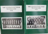 "CRICKET. ""THE AUSTRALIAN TOUR TO ENGLAND 1948 & 1953"" by GRIFFITHS & THOMAS."