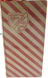 """1892 1st EDITION """"BAXTER'S SECOND INNINGS"""" by HODDER and STOUGHTON."""