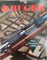 1994 RUGER FINE FIREARMS CATALOGUE. NEW OLD STOCK !!!
