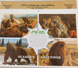 1970 REMINGTON GREAT GAME OF THE WORLD LARGE CALENDAR