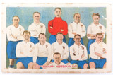 SCARCE 1920s BOYS MAGAZINE LARGE SOCCER / FOOTBALL CARD. TOTTENHAM HOTSPUR F.C.