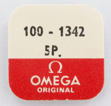 OMEGA CAL. 100-1342 5 LOWER BALANCE END STONES NOS, UNOPENED PACKET
