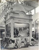 RARE 1924 BRITISH EMPIRE EXHIBITION LARGE PHOTO, AUSTRALIAN IRRIGATION STAND.
