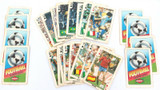 24 x 1986 WORLD CUP SOCCER DANDY FOOTBALL BUBBLE GUM COLLECTOR CARDS.