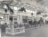 RARE 1924 BRITISH EMPIRE EXHIBITION PHOTO. WHEAT & GRAIN, AUSTRALIAN PAVILION.