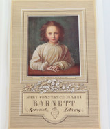 c1940s VERY LARGE MEMORIAL LIBRARY PRINT by G F WATTS / RIGBY for M C I BARNETT.