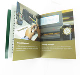 Rolex Factory Service Booklet. Gold cover version 0409