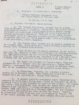 RARE 1948 TOTTORI MILITARY GOVERNMENT OF JAPAN (OCCUPATION) REPORTS.