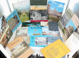 GOOD JOB LOT 1960s / 1970s BRITISH CASTLES, HOUSES, MANORS ETC TOURIST GUIDES.