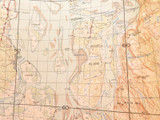 1947 BEENLEIGH DISTRICT, QLD. RARE LARGE MAP INCLUDING MORETON BAY ISLANDS