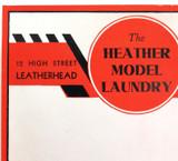 RARE ART DECO c1940s SAMUEL JONES & Co UNUSED LARGE LITHOGRAPH COMPANY LABEL #2