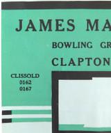 RARE ART DECO c1940s SAMUEL JONES & Co UNUSED LARGE LITHOGRAPH COMPANY LABEL #4