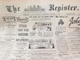6 OCT 1926 / THE REGISTER NEWSPAPER, ADELAIDE. SUPERB MOTORING WORLD SECTION.