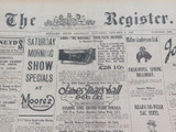 9 OCT 1926 / THE REGISTER NEWSPAPER.
