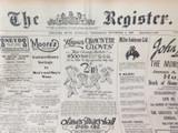 3 NOV 1926 / THE REGISTER NEWSPAPER, ADELAIDE. SUPERB MOTORING WORLD SECTION.