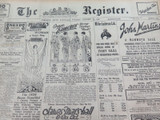 26 OCT 1926 / THE REGISTER NEWSPAPER ADELAIDE LADIES FASHION & ELECTRIC SECTIONS