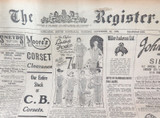 23 NOV 1926 / THE REGISTER NEWSPAPER, ADELAIDE. ELECTRICITY & MOTORCYCLE SECTION