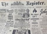 1 DEC 1926 / THE REGISTER NEWSPAPER, ADELAIDE. SUPERB MOTORING WORLD SECTION.