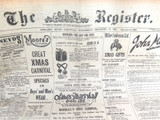 15 DEC 1926 / THE REGISTER NEWSPAPER, ADELAIDE. SUPERB MOTORING WORLD SECTION.