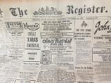 22 DEC 1926 / THE REGISTER NEWSPAPER, ADELAIDE. SUPERB MOTORING WORLD SECTION.