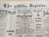 24 DEC 1926 / THE REGISTER NEWSPAPER, ADELAIDE. GOOD CRICKET SECTION QLD XI.