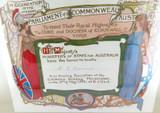 1901 RARE SUPERB LITHOGRAPH INVITATION by J ASHTON OPENING AUSTRALIAN PARLIAMENT