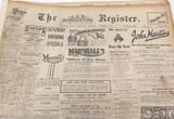 2 OCT 1926 / THE REGISTER NEWSPAPER, ADELAIDE SUPERB 6 PAGE PROGRESS of MOTORING