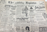 19 NOV 1926 / THE REGISTER NEWSPAPER, ADELAIDE. FULL PAGE ON THE TOWN OF QUORN