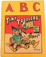 AUSTRALIANA SUPER RARE 1931 JOHN SANDS SUNNY SOUTH SERIES ABC TINY TODDLERS BOOK