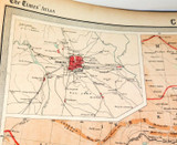 """1922 SUPERB SCARCE LARGE MAP of """"CHINA"""". VERY NICE!"""