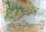 WW1 INTERESTING MAP / SEA of MARMARA & GALLIPOLI.