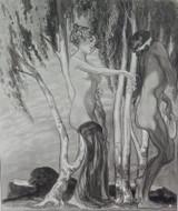 1914 RARE FRANZ VON BAYROS EROTIC HELIOGRAVURE ex LIMITED EDITION SERIES. #9