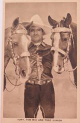 VINTAGE TOM MIX, TONY & TONY JUNIOR LOBBY CARD / CARD.