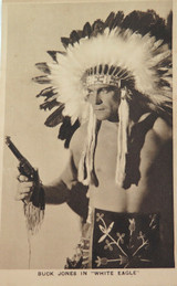 "1932 BUCK JONES in ""WHITE EAGLE"" LOBBY CARD / CARD"