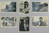 """1927 RARE GROUPING """"THE WRECK of the HESPERUS"""" LOBBY CARDS / CARDS"""