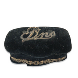 """LATE 1800s / EARLY 1900s FELT LINED """"PINS"""" STORAGE BOX."""