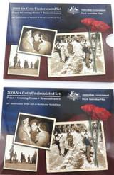 2005 AUSTRALIAN RAM UNC SET