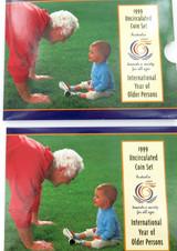1999 AUSTRALIAN RAM UNC SET + RAM ERRATUM CARD