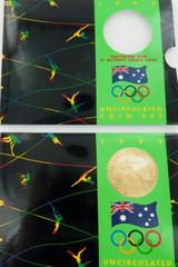 1992 AUSTRALIAN RAM UNC SET. OLYMPICS.