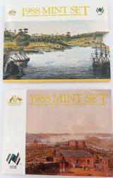 1988 AUSTRALIAN RAM UNC SET