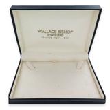 VINTAGE WALLACE BISHOP NECKLACE DISPLAY BOX.