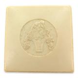 VINTAGE HARD CASE PLASTIC PROUDS JEWELLERS JEWELLERY BOX.